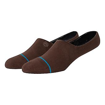 Stance Icon No Show Socks - Brown