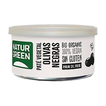 Svart olivgrönsak Pate 125 g