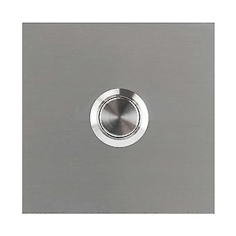 MOCAVI RING 110 Design Sonnette en acier inoxydable V2A carré
