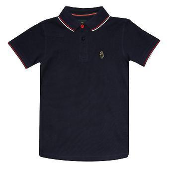 Boy's Luke 1977 Infant Tip Off Polo Shirt in Blue