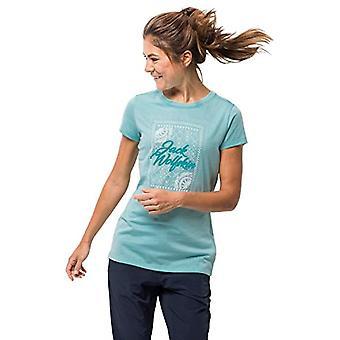Jack Wolfskin Damen T-Shirt Sea Breeze, Aqua, XS1806601.0