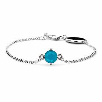Décembre Turquise Birthstone Bracelet - 16cm + 2cm extender - Bijoux cadeaux pour femmes de Lu Bella