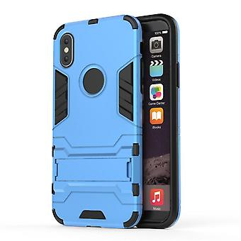 Shockproof case for iphone 7plus with kickstand blue pc5048
