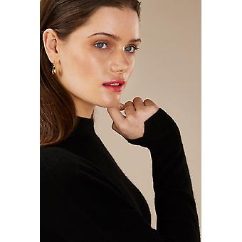 Loop Cashmere Turtle Neck Sweater In Black