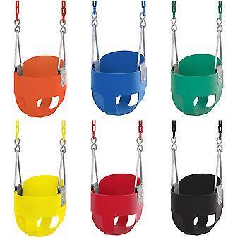 Baby Toddler High Back Bucket Swing Soft Seat   Legeplads tilbehør til børn