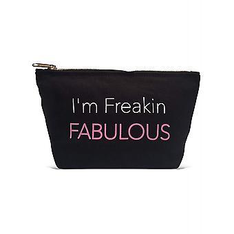Los Angeles Trading Co. 'Freakin Fabulous...' Designer Black Pouch