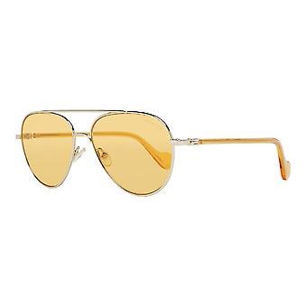 Men's Sunglasses Moncler ML0056-32E Golden (ø 57 mm)