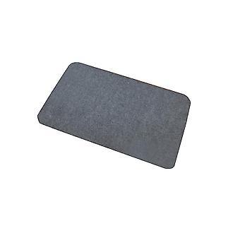 Gray 76x36 pure color rectangular glue-free self-adhesive non-slip stair mat homi4103