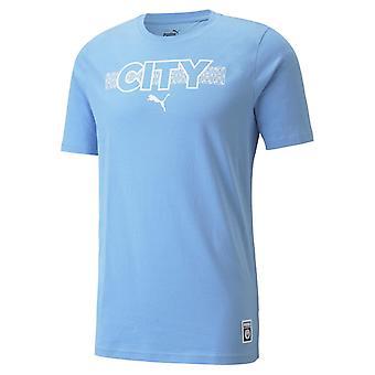 Puma Manchester City Core T-shirt Herre