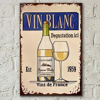 Tile 8x12 Vin Blanc Fra Martin Wiscombe Veggkunst