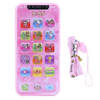 Edukacyjny telefon komórkowy, telefon dla dzieci, wczesna nauka śniątka telefonii komórkowej