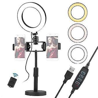 6.5inch/16cm video LED gyűrű fény