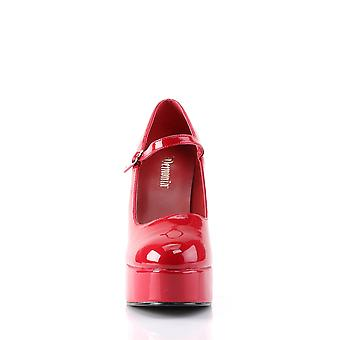 Demonia Women's Chaussures DOLLY-50 Red Pat