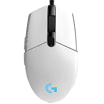 Káblová myš hra souris myši počítač Mause (biela)