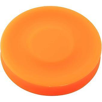 Chip Silicone Flexibele Mini Flying Disc Frisbee (Oranje)