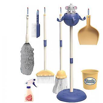 تنظيف كيت لعب الأطفال البيت تنظيف كيت (الأزرق)