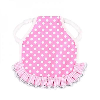 Chicken Saddle Hen Apron With Elastic Straps Cartoon Fruit Polka Dot Print Ruffled Duck Jacket Poultry Feather Protector