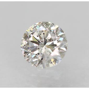معتمد 0.30 قيراط D اللون SI2 جولة رائعة الماس فضفاضة الطبيعية 4.31mm