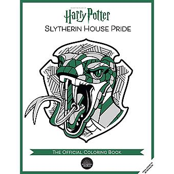 Harry Potter Slytherin House Pride The Official Coloring Book  Gifts Books for Harry Potter Fans Adult Coloring Books by Insight Editions