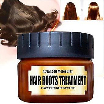 """60 מ""""ל ניקוי רעלים מסכת שיער מולקולרית מתקדמת - טיפול שורשי שיער"""