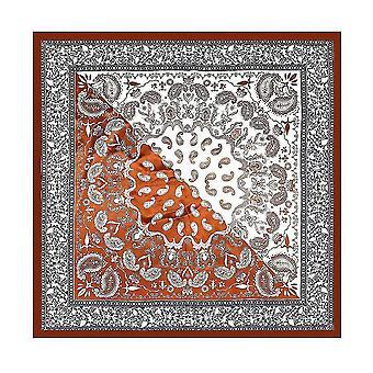 Foulard carré en soie Femmes Imprimer Petit Cou Foulards Bande de Cheveux (COLOR3)