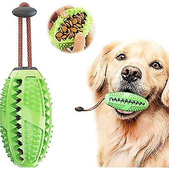 Dog Chew Toys, Molar Cleaning Toy With Food Dispensing Interactive Toy For Dog Training Play Reward 2pcs