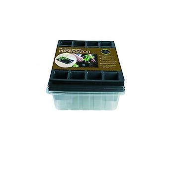 Norm Propagator Triple Pack (enthält 3 x Seed Tray, 24 Zelle Einfügungen, Deckel)-Gartenbau