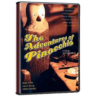 Adventures of Pinocchio [DVD] USA import