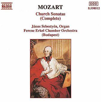 W.a. Mozart - Mozart: Church Sonatas (Complete) [CD] USA import