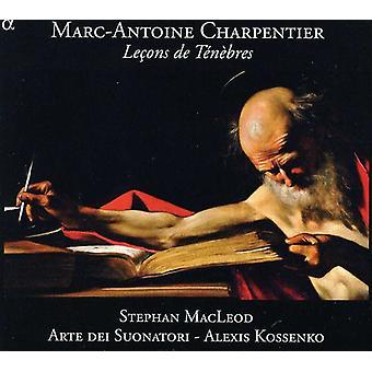 G. Charpentier - Marc-Antoine Charpentier: Le Ons De T N Bres [DVD] USA import