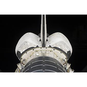 La partie arrière de la navette spatiale Endeavour Poster Print