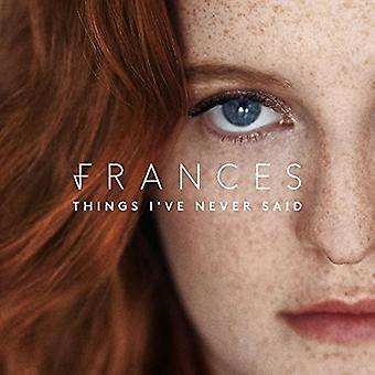 Frances - choses que j'ai jamais dit [CD] USA import