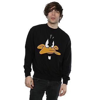 Looney Tunes mannen Daffy Duck grote gezicht Sweatshirt