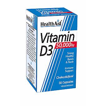 Health Aid Vitamin D3 50,000iu 30's Tablets