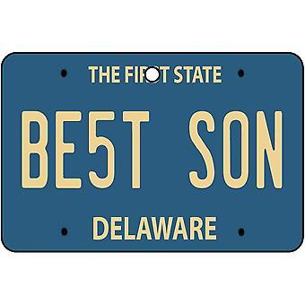 Delaware - el mejor ambientador del coche de la placa del hijo