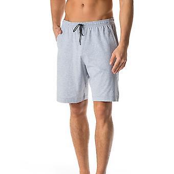 Mey 24650-620 homens Lounge cinza cor sólida do pijama pijama curto