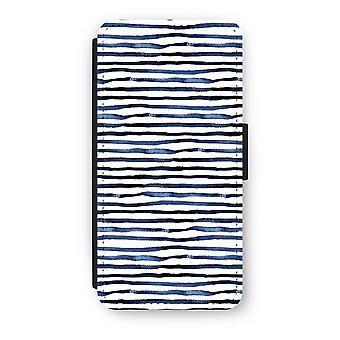 iPhone 7 Flip Case - überraschend Linien