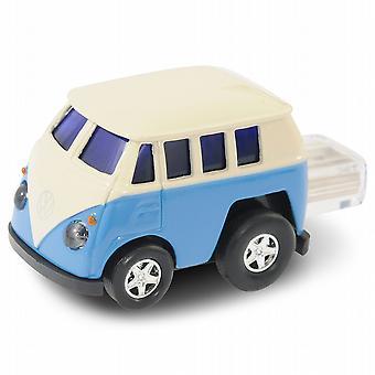 VW Camper Van Tietokone USB Memory Stick 8 Gt - Sininen