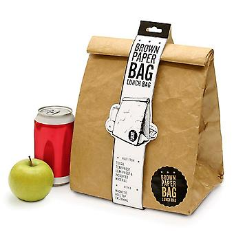 Brown Paper Bag Insulated Lunchbox