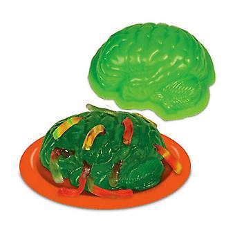 Zombie hjernen Gelatin Mold