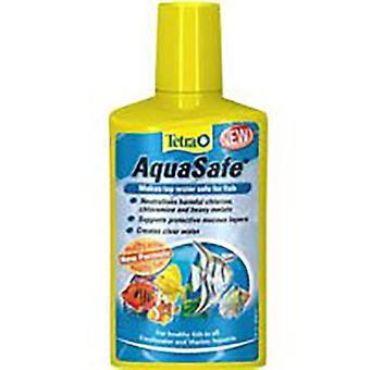 Tetra Aqua Safe víz kondicionáló a hal akváriumban