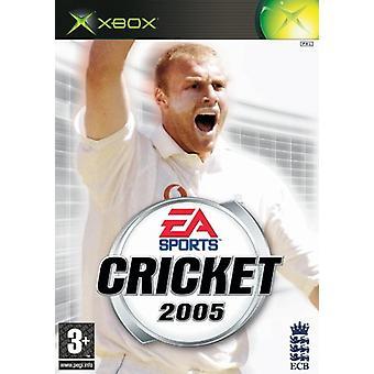 Cricket 2005 (Xbox) - New