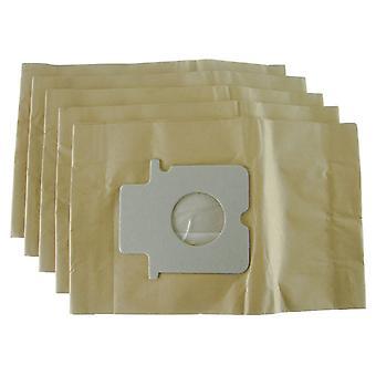 Sacs à poussière Panasonic cylindre aspirateur papier
