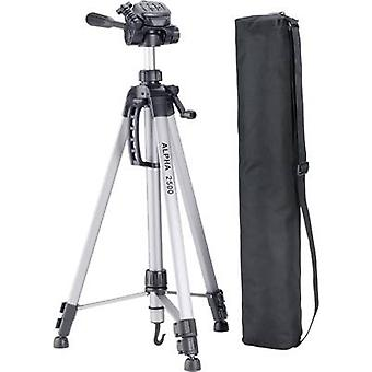 Cullmann Alpha 2500 Tripod Working height=63 - 165 cm Silver incl. bag