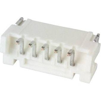 JST inbyggda pin strip (standard) PH totalt antal stift 5 kontakt avstånd: 2 mm S5B-PH-SM4-TB (LF)(SN) 1 dator
