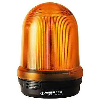 Werma Signaltechnik Luz 828.300.55 Yellow Flash 24 V DC