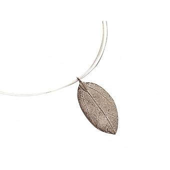Halskette silber Rose Collier BRIANNA Rosenblatt Halskette 925 Silber