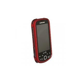 Samsung M910 Intercept Snap-On caso (rojo) de goma