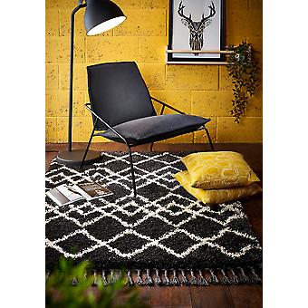 Morocco Orgins Charcoal  Rectangle Rugs Plain/Nearly Plain Rugs