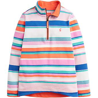 Joules filles Fairdale trimestre Zip Jersey doux Fleece Jacket